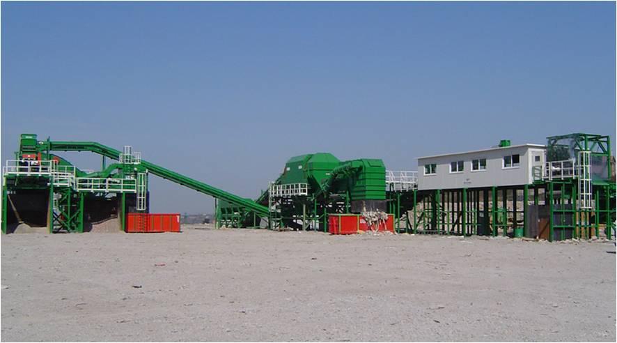 Planta Residuos de Construccion y Demolucion